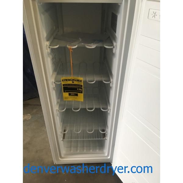 Brand New Upright 5 3 Cu Ft Insignia Freezer 1 Year