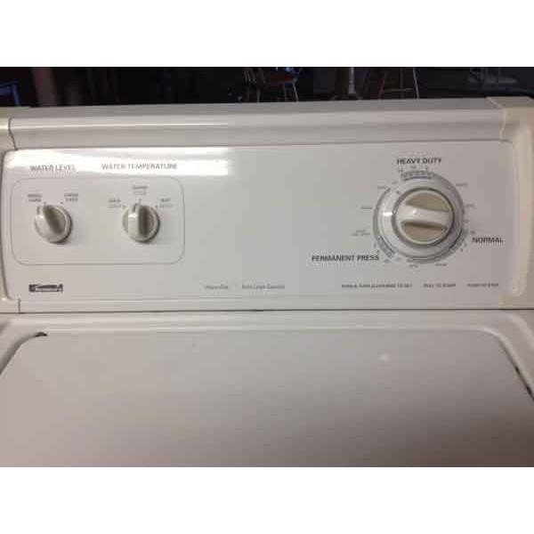 "Kenmore 24"" Washer / Kenmore 80 Series Dryer"