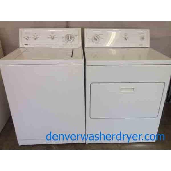 Kenmore Series 80 Washer/70 Dryer Set!