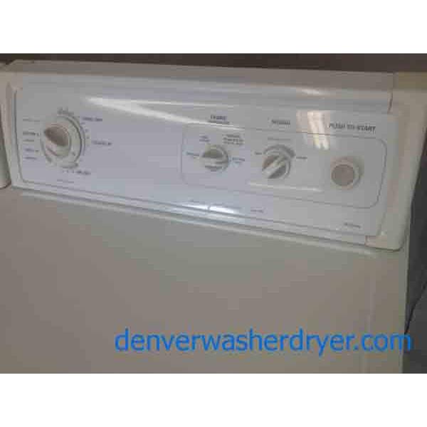 Kenmore Series 80 Washer/90 GAS Dryer Set!