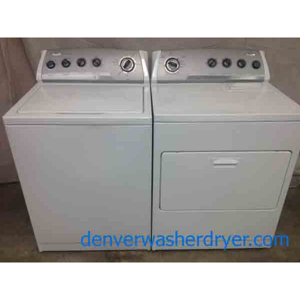 Full Feature Whirlpool Washer Dryer Set 2263 Denver