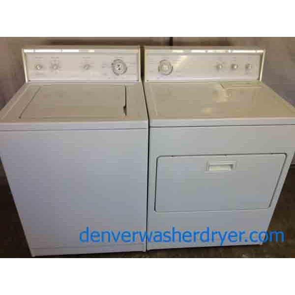 on sale heavyduty kenmore 80 series washerdryer set