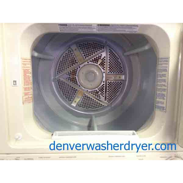 27 Quot Wide Kenmore Stacked Washer Dryer Set 2337