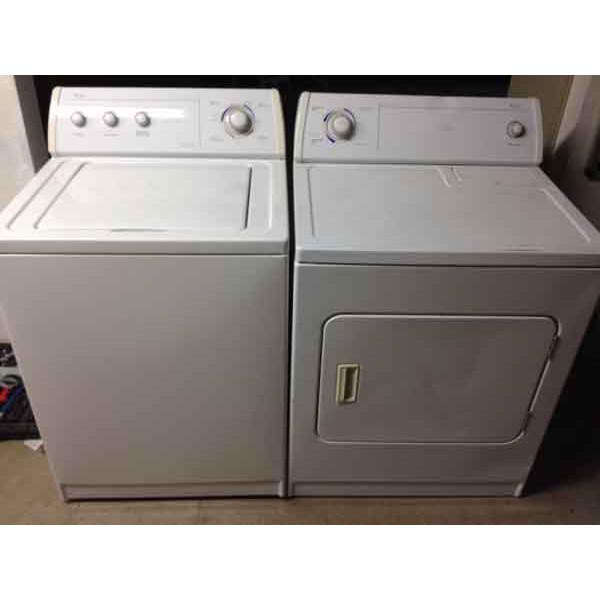 Whirlpool Washer Dryer Matching Set 120 Denver