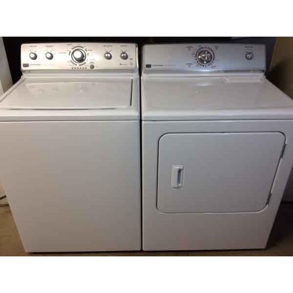 set maytag centennial washerdryer
