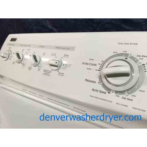 Heavy Duty Kenmore Elite Washer Dryer Set 2563 Denver