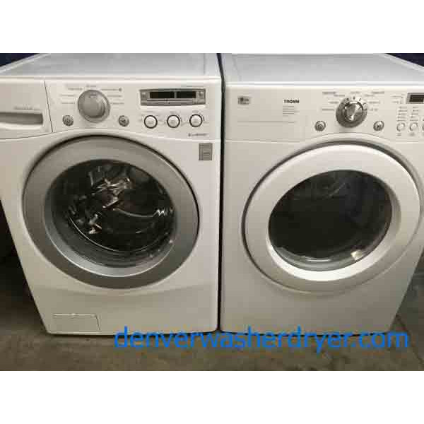lg direct drive stackable washer dryer set