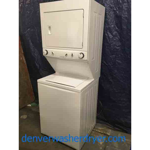 frigidaire gallery stackable washer dryer manual