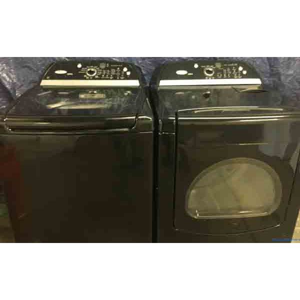 Matched Whirlpool Washer And Dryer 5 Cu Ft He 2593