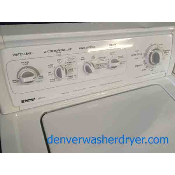 Kenmore 90 Series Dryer Kenmore 90 Series Washer And
