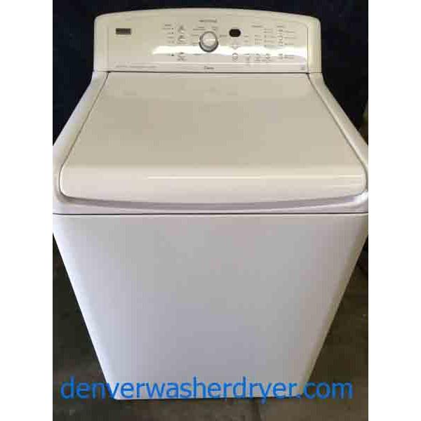 kenmore elite oasis washing machine