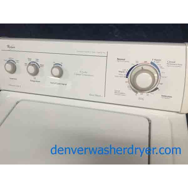 whirlpool ultimate care ii washing machine
