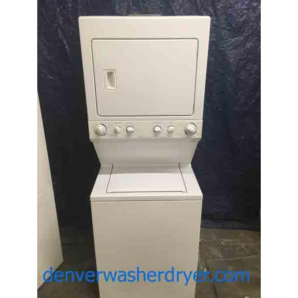 Fantastic Frigidaire 220v Stacked Laundry Machine 2622