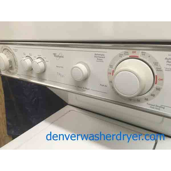 24 Quot Whirlpool Thin Twin Stacked Washer And Dryer 2623