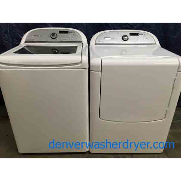 Whirlpool Cabrio Platinum Washer Dryer Set 2630
