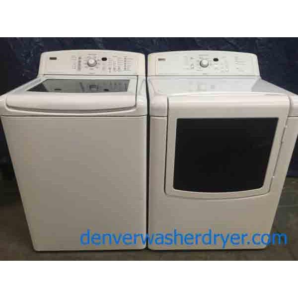He Kenmore Elite Oasis Washer Dryer 2631 Denver