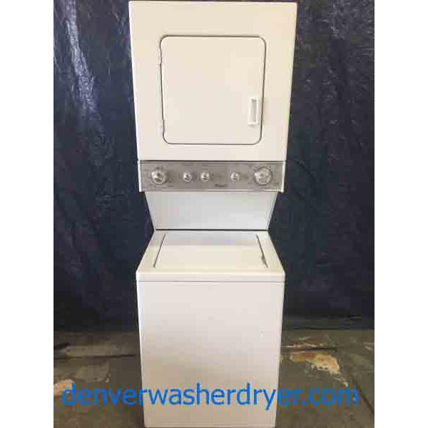 2015 Whirlpool 24 Quot Stackable Laundry Center 220v 2656