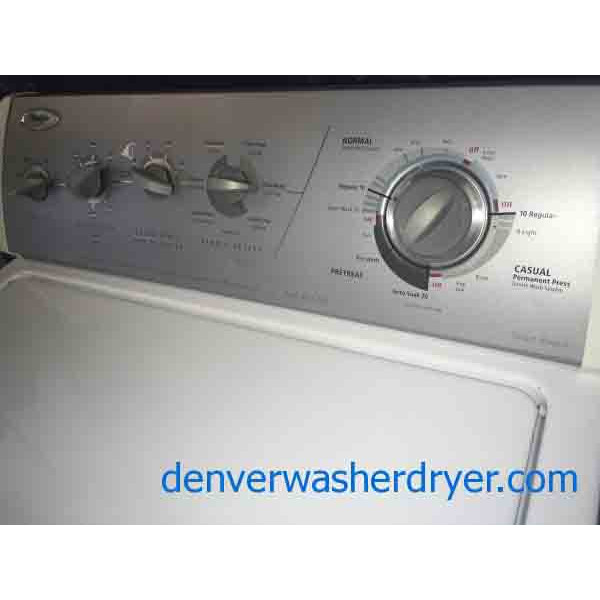 Whirlpool Apartment Size Washer And Dryer: Black Friday Special Whirlpool Super Capacity Washer Dryer