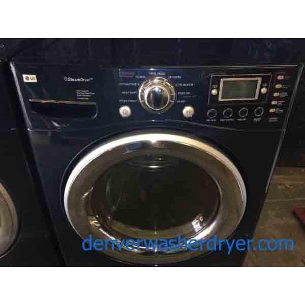 Wonderful Navy Blue True Steam Lg Tromm Washer Dryer Set