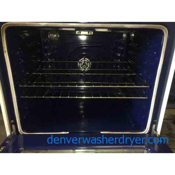 white lg convection oven glass top range 5 burner warming drawer 2845 denver washer dryer. Black Bedroom Furniture Sets. Home Design Ideas