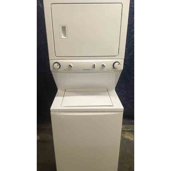2014 Frigidaire 220V Stacked Washer and Dryer!