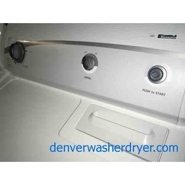 Classic Kenmore 500 Series Set 220v 2909 Denver