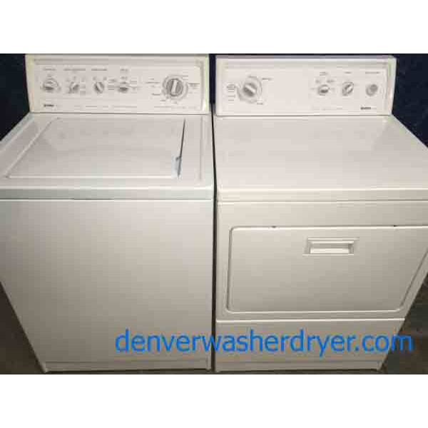Classy Kenmore 90 Series Laundry Set, Quality Refurbished!