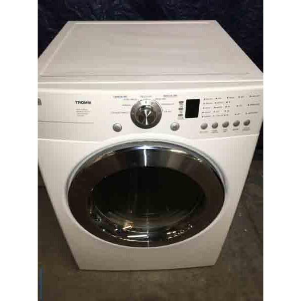 Lg Sensor Dryer ~ Lg front load dryer with sensor drying v
