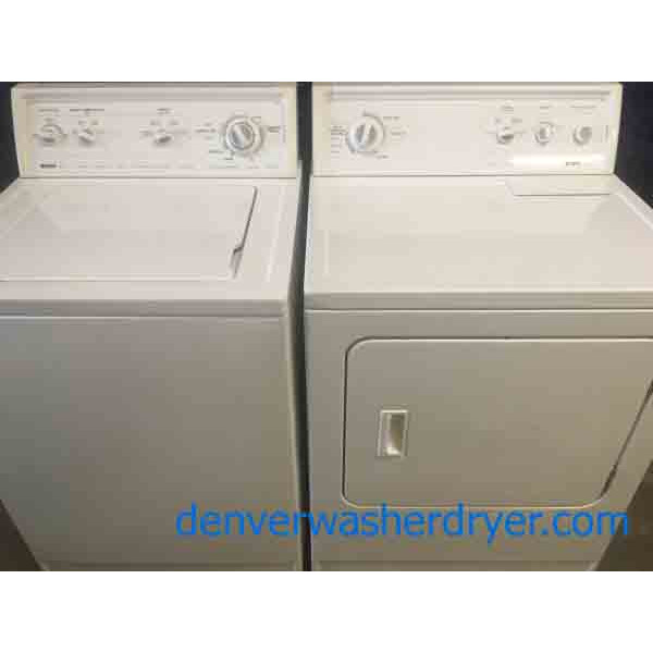 Magnificent Mix-Matched Kenmore 70 and 80 Series Washer And Dryer
