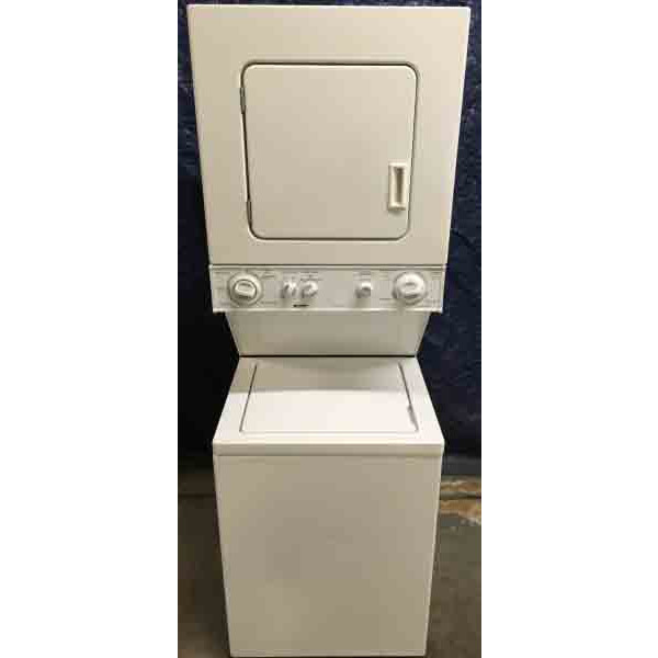 24 Quot 220v Stacked Laundry Center Washer Dryer Combo