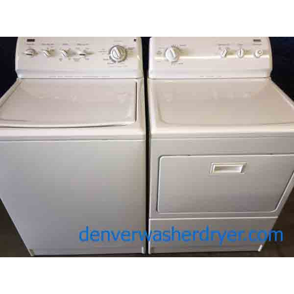 KING Sized Kenmore Elite Washer/Dryer, Direct-Drive, 220v