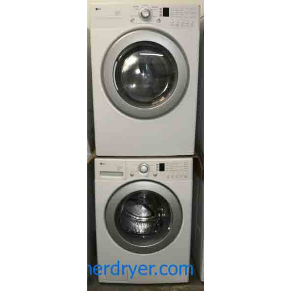 Direct Drive Lg Washer And Dryer Set Stackable 220v