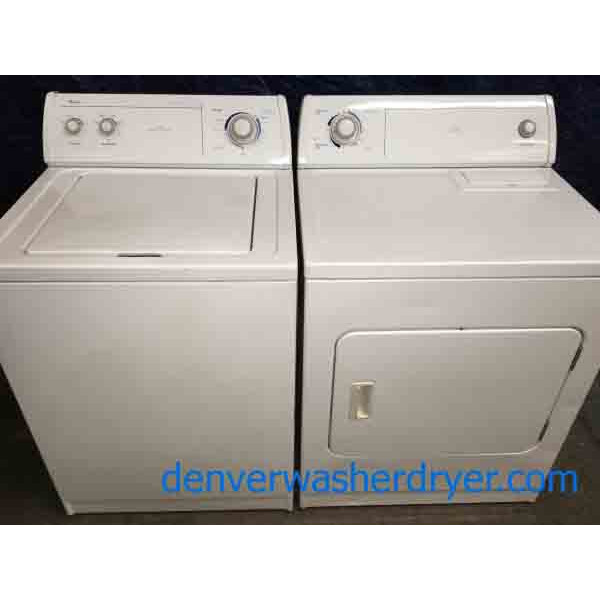 Splendid Whirlpool Washer Dryer Set! Heavy-duty Direct-drive