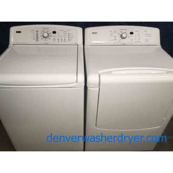 Canyon Capacity Kenmore Elite Washer Dryer Set, Energy Star!