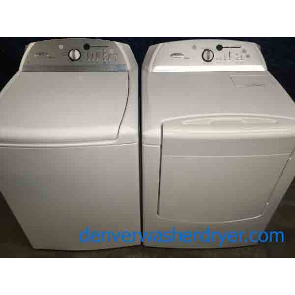 Perfect Whirlpool Cabrio HE Washer Dryer Set, Direct-Drive