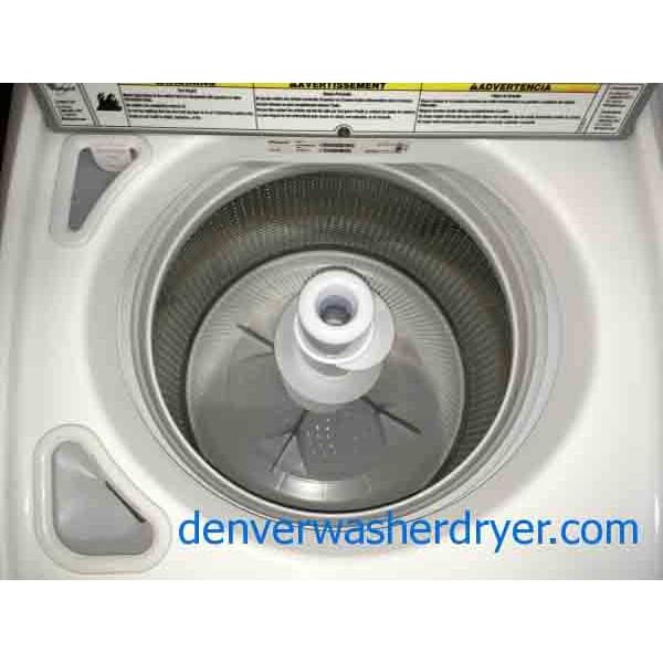 Rare Whirlpool Cabrio Washer Dryer Set He With Agitator