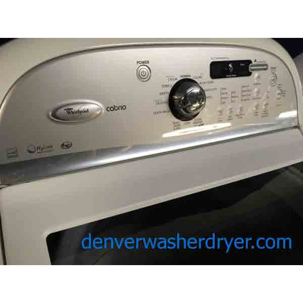 Direct Drive He Top Loading Laundry Set Whirlpool Energy