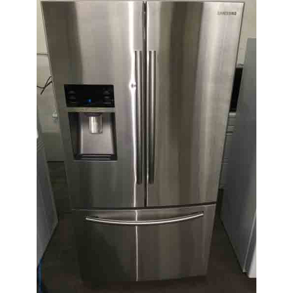 Discount Stainless French Door Refrigerator, 28 Cu. Ft., 1-Year Warranty