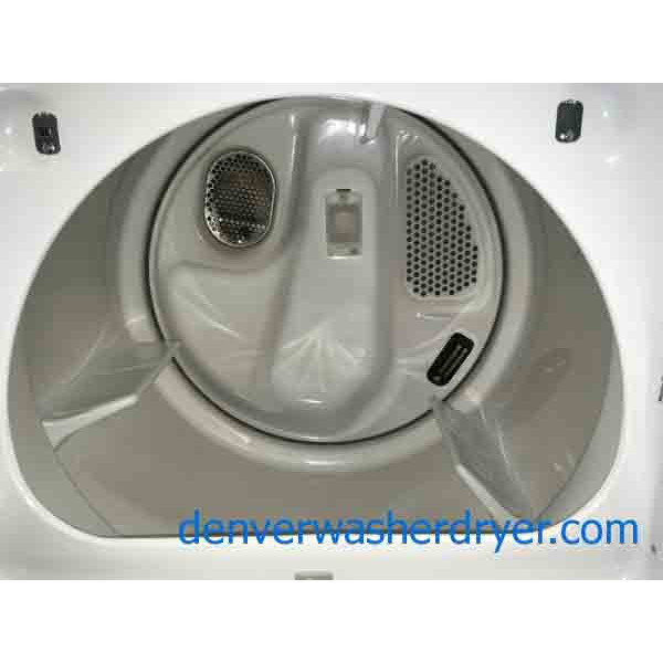 Beautiful White He Cabrio Set 3023 Denver Washer Dryer