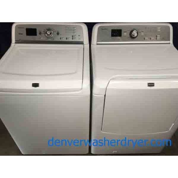 Marvelous Maytag Bravos XL Washer and *GAS* Dryer, Direct-Drive!