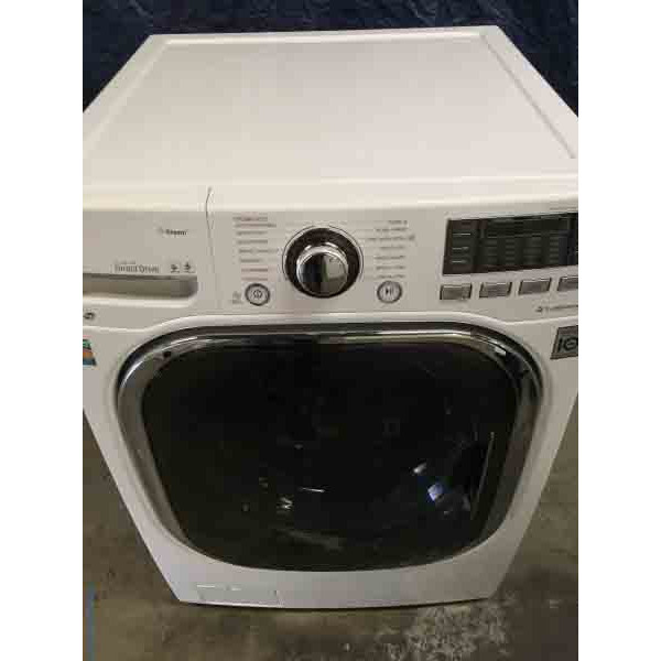 2014 LG Front-Load Washing Machine, Direct-Drive