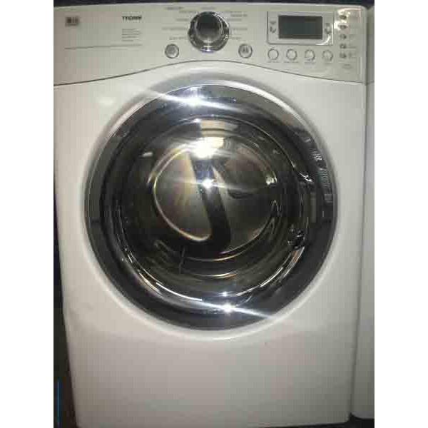 Wonderful White Lg Washer And Dryer Set W Stacking Kit