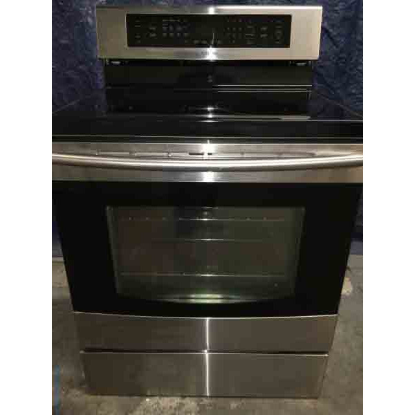 Newer Samsung Induction Range, Black/Stainless, Electric