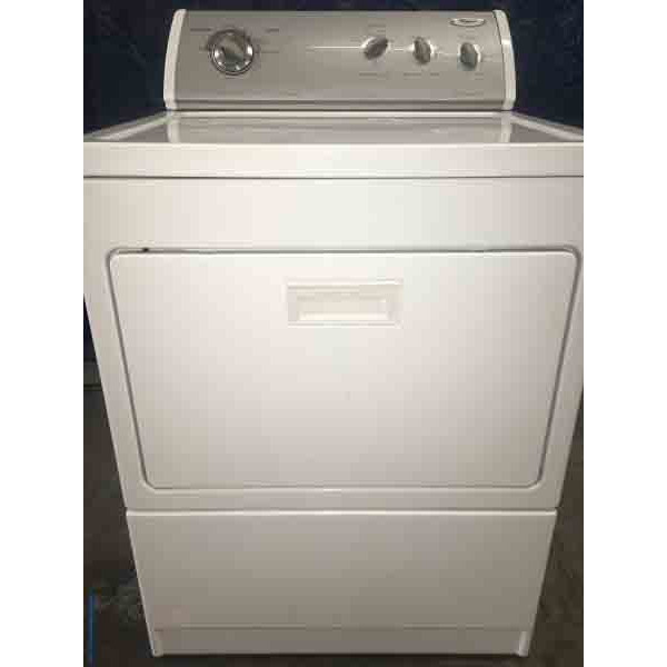 Whirlpool Ultra Capacity 27 Quot Wide Dryer 3098 Denver