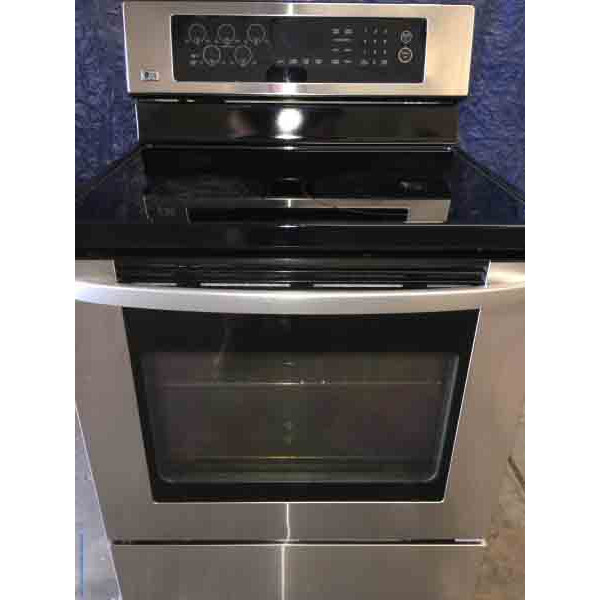 Used LG Touch Electric Range With Convection Oven!