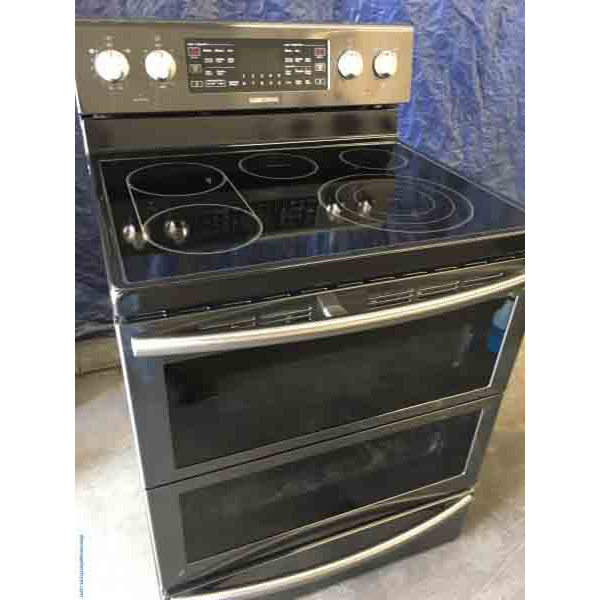 Fantastic Samsung Glass-Top Convection Double Oven!