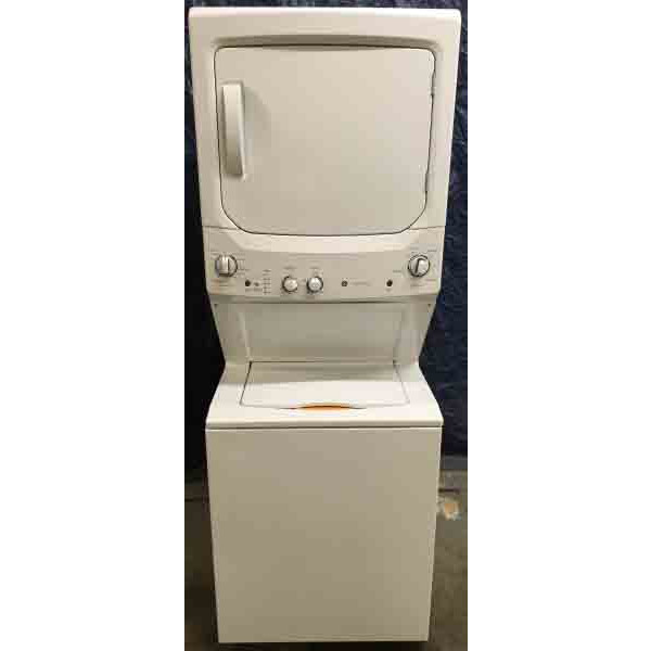 Brand-New GE Spacemaker Stacked Laundry Center, 27″, Electric