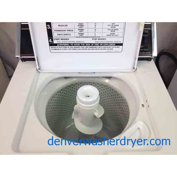 Whirlpool Heavy Duty Washer 2293 Denver Washer Dryer
