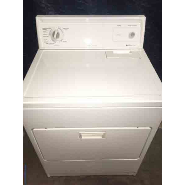 Single Kenmore 70 Series Electric Dryer 6 Month Warranty