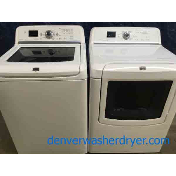 Magnificent Maytag Bravos MCT Washer and Dryer Set